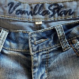 Vanilla Star Shorts - Distressed Denim Shorts